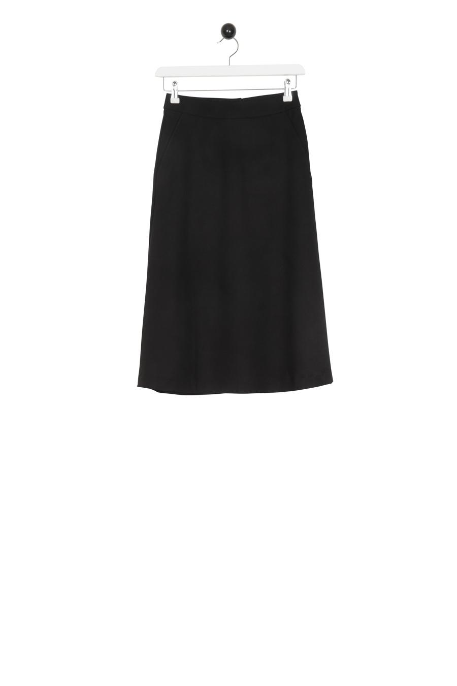 Basic Wool Skirt