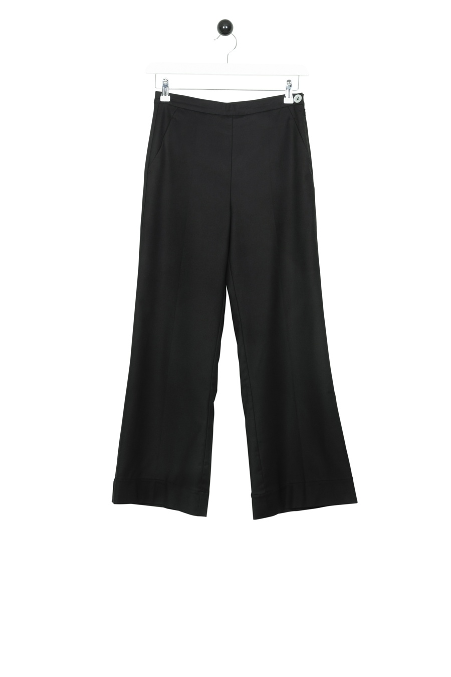 Basic Wool Trousers W