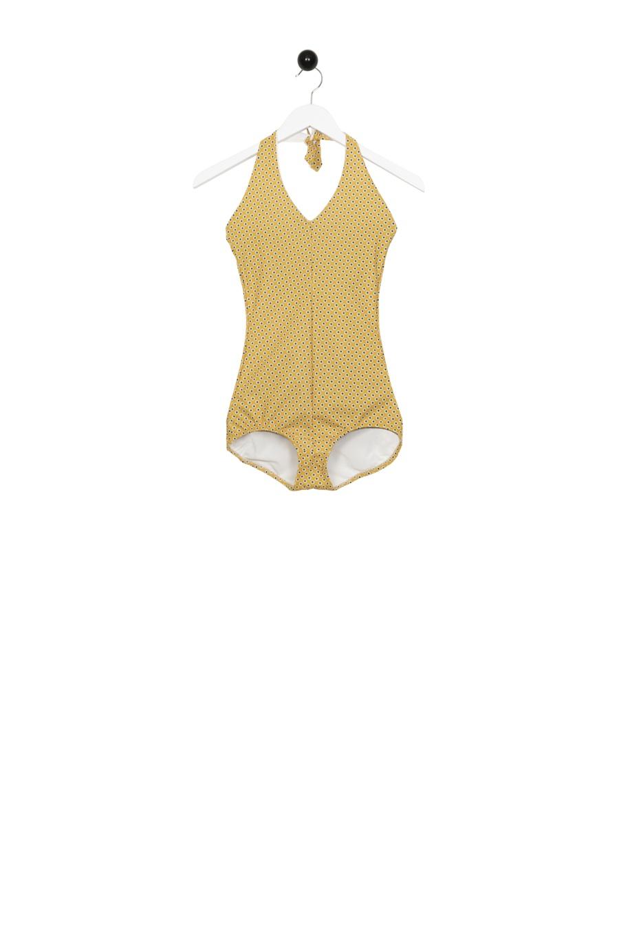Basic Swimsuit Yellow